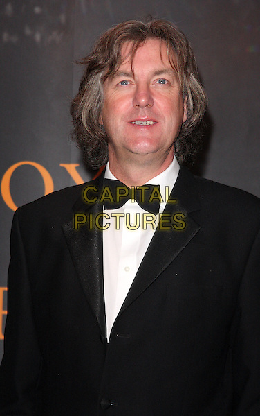 JAMES MAY.Royal Television Society Programme Awards held at the Grosvenor House Hotel, Park Lane, London, England..March 16th, 2010.RTS headshot portrait black white bow tie .CAP/ROS.©Steve Ross/Capital Pictures.