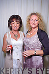 Mary O'Neill and Shirley McEvoy at the Rose of Tralee Fashion Show at the Dome on Sunday Night.