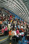 Il Palazzo delle Esposizioni ITALIA 61 al Parco del Valentino durante i Giochi Olimpici Torino 2006...The Expo Palace ITALIA 61 in the Valentino Park, during the Olympic Games 2006.