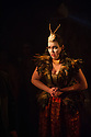London, UK. 11.02.2014. English Touring Opera presents KING PRIAM in the Linbury Studio at the Royal Opera House. Picture shows:  Laure Meloy (Hecuba). Photograph © Jane Hobson.