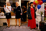 Motcomb Street, street party Belgravia London 1998.