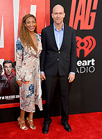 Rob McKittrick &amp; Guest at the world premiere for &quot;TAG&quot; at the Regency Village Theatre, Los Angeles, USA 07 June  2018<br /> Picture: Paul Smith/Featureflash/SilverHub 0208 004 5359 sales@silverhubmedia.com