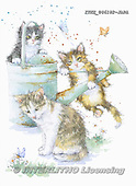 Isabella, REALISTIC ANIMALS, REALISTISCHE TIERE, ANIMALES REALISTICOS, paintings+++++,ITKE046182-JAPA,#a#, EVERYDAY ,cats