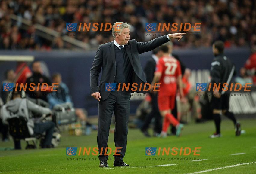 Carlo Ancelotti (psg) .Parigi 5/5/2012 .Football Calcio 2012/2013.Ligue 1 Francia .Paris Saint Germain PSG Vs Valenciennes .Foto Panoramic / Insidefoto .ITALY ONLY
