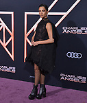 "Naomi Scott 014 attends the premiere of Columbia Pictures' ""Charlie's Angels"" at Westwood Regency Theater on November 11, 2019 in Los Angeles, California."