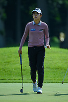 Lydia Ko (NZL) after sinking her putt on 11 during the round 1 of the KPMG Women's PGA Championship, Hazeltine National, Chaska, Minnesota, USA. 6/20/2019.<br /> Picture: Golffile | Ken Murray<br /> <br /> <br /> All photo usage must carry mandatory copyright credit (© Golffile | Ken Murray)