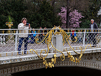 Postbr&uuml;cke in Meran-Merano, Bozen &ndash; S&uuml;dtirol, Italien<br /> Post bridge, Meran-Merano, province Bozen-South Tyrol, Italy