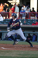 April 11, 2005:  Outfielder Jeff Duncan of the Binghamton Mets during a game at Jerry Uht Park in Erie, PA.  Binghamton is the Eastern League Double-A affiliate of the New York Mets.  Photo by:  Mike Janes/Four Seam Images