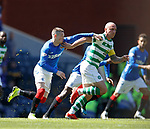 12.05.2019 Rangers v Celtic: Ryan Kent and Scott Brown