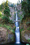 Multnomah Falls in the scenic Columbia River Gorge