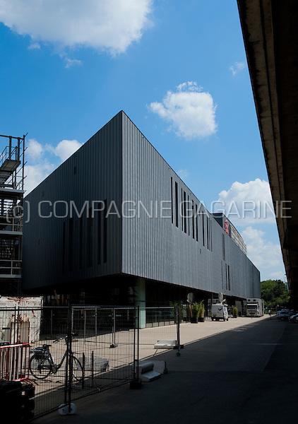 The Lotto Arena event hall in Antwerp (Belgium, 23/06/2009)