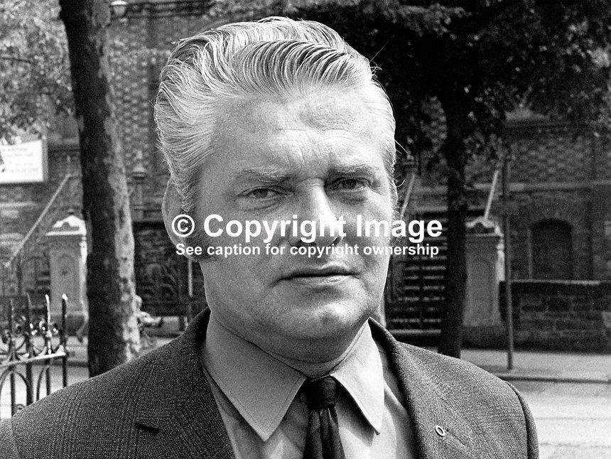 Hugh Lewis, Unity candidate, Armagh, UK General Election, June, 1970, 197006000220<br /> <br /> Copyright Image from Victor Patterson, 54 Dorchester Park, Belfast, UK, BT9 6RJ<br /> <br /> t: +44 28 9066 1296<br /> m: +44 7802 353836<br /> vm +44 20 8816 7153<br /> <br /> e1: victorpatterson@me.com<br /> e2: victorpatterson@gmail.com<br /> <br /> www.victorpatterson.com<br /> <br /> IMPORTANT: Please see my Terms and Conditions of Use at www.victorpatterson.com
