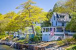 Victorian cottages in Northport, Mid-coast, ME