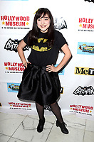 LOS ANGELES - JAN 10:  Chloe Noelle at the Batman '66 Retrospective and Batman Exhibit Opening Night at the Hollywood Museum on January 10, 2018 in Los Angeles, CA<br /> <br /> Batman '66 Retrospective and Batman Exhibit Opening Night, The World Famous Hollywood Museum, Hollywood, CA 01-10-18