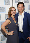 Miriam Silverman and Steven Pasquale attends the Opening Night After Party for the Lincoln Center Theater Production of 'Junk' on November 2, 2017 at Tavern On The Green in New York City.