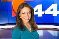 Portrait of Claudia Curiel, Telemundo44