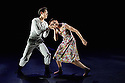 London, UK. 18.06.2015. English National Ballet presents CHOREOGRAPHICS, an evening of new work from emerging and developing choreographers, in the Lilian Baylis studio at Sadler's Wells. This piece is traumA, choreographed by Fabian Reimair. The dancers are: Anjuli Hudson, Ken Saruhashi, Barry Drummond, Shevelle Dynott. Photograph © Jane Hobson.