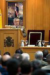 CESEDEN director, Lieutenant General Alfonso de la Rosa Morena during the close of the XIII year of staff of the Armed Forces at the Center for Advanced Studies of National Defense (CESEDEN).(Alterphotos/Ricky)