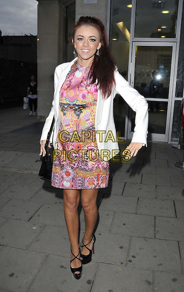 LONDON, ENGLAND - OCTOBER 01: Lydia Lucy  attends the Cherry Edit new fashion website launch party, Cafe KaiZen, Hanover Square, on Wednesday October 01, 2014 in London, England, UK. <br /> CAP/CAN<br /> &copy;Can Nguyen/Capital Pictures