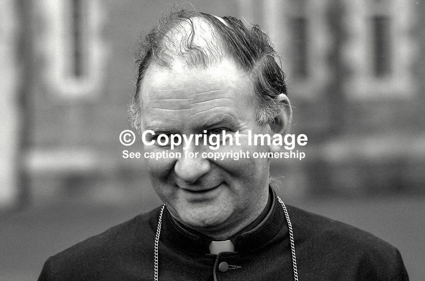 Most Rev Donal Murray, Roman Catholic, Auxiliary Bishop of Dublin, Ireland, 19870613DM..Copyright Image from Victor Patterson, 54 Dorchester Park, Belfast, UK, BT9 6RJ..Tel: +44 28 9066 1296.Mob: +44 7802 353836.Voicemail +44 20 8816 7153.Skype: victorpattersonbelfast.Email: victorpatterson@me.com.Email: victorpatterson@ireland.com (back-up)..IMPORTANT: If you wish to use this image or any other of my images please go to www.victorpatterson.com and click on the Terms & Conditions. Then contact me by email or phone with the reference number(s) of the image(s) concerned.