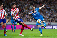 190810 Gonzalo Higuain of Juventus during the International Champions Cup match between Atletico Madrid and Juventus on August 10, 2019 in Stockholm. <br /> Photo: Kenta Jönsson / BILDBYRAN / Insidefoto / Cop 210<br /> ITALY ONLY