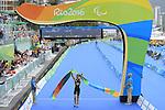 Martin Schulz (GER), <br /> SEPTEMBER 10, 2016 - Triathlon : <br /> Men's Individual Paratriathlon PT4 <br /> at Fort Copacabana<br /> during the Rio 2016 Paralympic Games in Rio de Janeiro, Brazil.<br /> (Photo by AFLO SPORT)