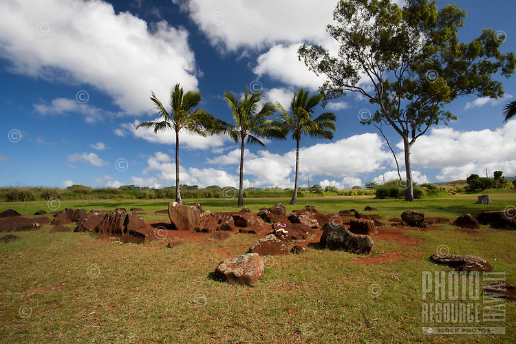 Kukaniloko Birthstones in Wahiawa, O'ahu