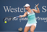 Ashleigh Barty (AUS) defeated Maria Sharapova (RUS) 6-4, 6-1