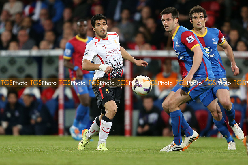 Luis Suarez of Liverpool - Crystal Palace vs Liverpool, Barclays Premier League at Selhurst Park, Crystal Palace, London - 05/05/14 - MANDATORY CREDIT: Rob Newell/TGSPHOTO - Self billing applies where appropriate - 0845 094 6026 - contact@tgsphoto.co.uk - NO UNPAID USE