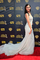 BURBANK - APR 26: Camila Banus at the 42nd Daytime Emmy Awards Gala at Warner Bros. Studio on April 26, 2015 in Burbank, California