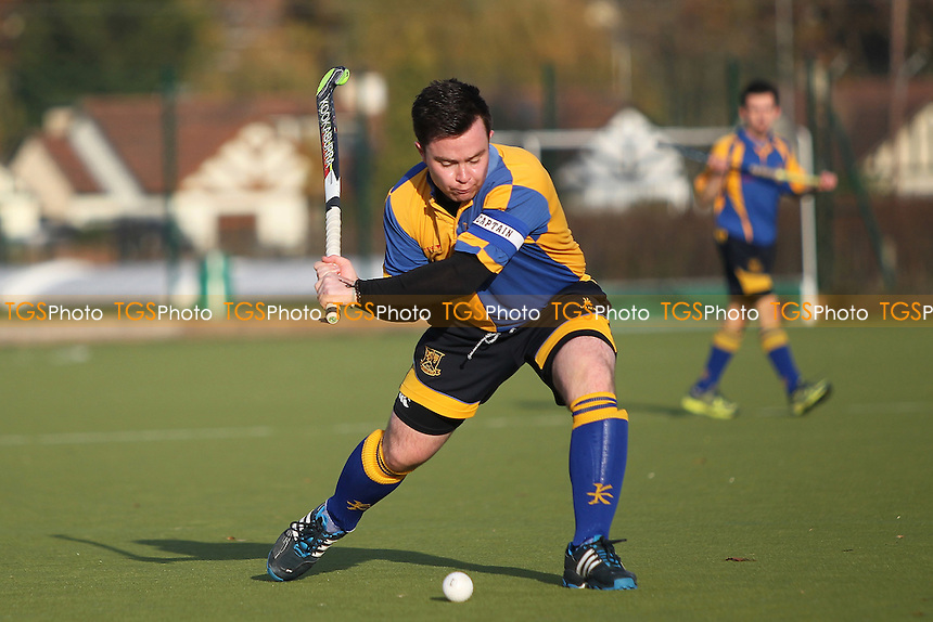 Upminster HC vs Long Sutton HC, East Region League Field Hockey at the Coopers Company and Coborn School on 26th November 2016