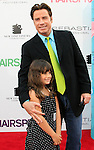 John Travolta and his daughter at the premiere of 'Hairspray' at the Mann Village Theater in Westwood, Los Angeles, California on July 10, 2007. Photopro.