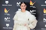 Barbara Santa Cruz attends to the Feroz Awards 2017 in Madrid, Spain. January 23, 2017. (ALTERPHOTOS/BorjaB.Hojas)
