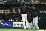 Japan team group,  Hiroki Kokubo (JPN), <br /> MARCH 12, 2017 - WBC : 2017 World Baseball Classic Second Round Pool E Game between <br /> Japan 8-6 Netherlands <br /> at Tokyo Dome in Tokyo, Japan. <br /> (Photo by Sho Tamura/AFLO SPORT)