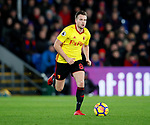 Watford's Tom Cleverley in action during the premier league match at Selhurst Park Stadium, London. Picture date 12th December 2017. Picture credit should read: David Klein/Sportimage