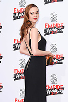 Sophie Skelton at the Empire Film Awards 2017 at The Roundhouse, Camden, London, UK. <br /> 19 March  2017<br /> Picture: Steve Vas/Featureflash/SilverHub 0208 004 5359 sales@silverhubmedia.com