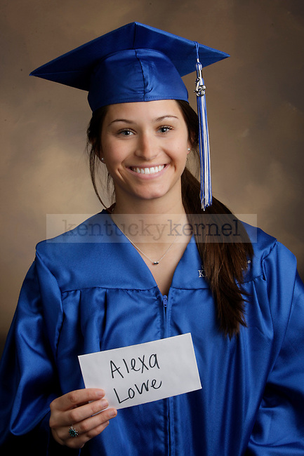 Lowe, Alexa photographed during the Feb/Mar, 2013, Grad Salute in Lexington, Ky.
