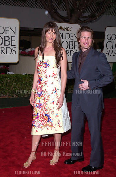 23JAN2000:  Actor TOM CRUISE & sister-in-law ANTONIA KIDMAN at the Golden Globe Awards in Beverly Hills..© Paul Smith / Featureflash