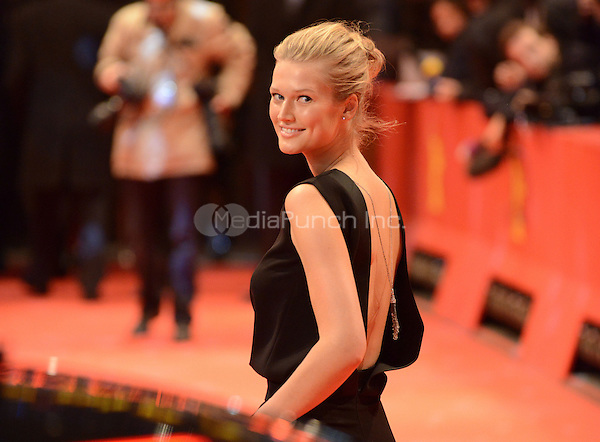Antonia &quot;Toni&quot; Garrn attending the &quot;The Monuments Men&quot; Premiere at at the 64th Annual Berlinale International Film Festival at Berlinale Palast, Berlin, Germany, 8.2.2014.<br /> Photo by Janne Tervonen/insight media /MediaPunch ***FOR USA ONLY***