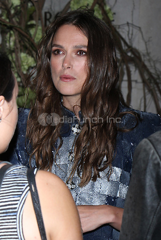 NEW YORK, NY-September 06: Keira Knightley at Chanel event  at Bergdor Goodman in New York. NY September 06, 2016. Credit:RW/MediaPunch