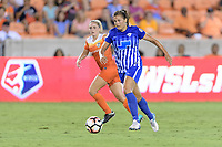 Houston, TX - Saturday July 22, 2017: Katie Stengel during a regular season National Women's Soccer League (NWSL) match between the Houston Dash and the Boston Breakers at BBVA Compass Stadium.