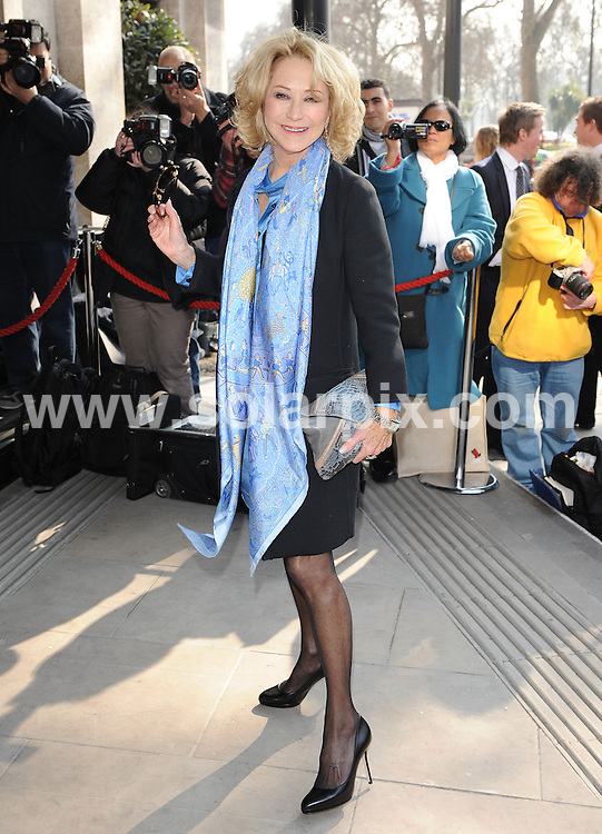 **ALL ROUND PICTURES FROM SOLARPIX.COM**                                             **WORLDWIDE SYNDICATION RIGHTS**                                                                                  Outside arrivals at the TRIC Awards 2011.  Held at Grosvenor House, Park Lane, London, on Tuesday March 08, 2011                                                                         This pic:     Felicity Kendal                                                                                       JOB REF:    12940    SSD       DATE:    08.03.11                                                        **MUST CREDIT SOLARPIX.COM OR DOUBLE FEE WILL BE CHARGED**                                                                      **MUST AGREE FEE BEFORE ONLINE USAGE**                               **CALL US ON: +34 952 811 768 or LOW RATE FROM UK 0844 617 7637**