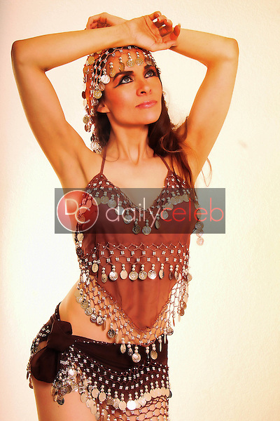 "Alicia Arden<br /> on the Set of New Film ""Osiris,"" LA Center Studios, Los Angeles, CA 12-29-12<br /> David Edwards/DailyCeleb.com 818-249-4998"