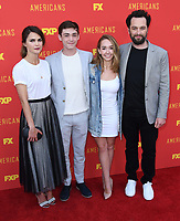 30 May 2018 - Burbank, California - Keri Russell, Keidrich Sellati, Holly Taylor, Matthew Rhys. FX's &quot;The Americans&quot; FYC Series Finale Event held at Saban Media Center at the Television Academy. <br /> CAP/ADM/BT<br /> &copy;BT/ADM/Capital Pictures