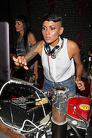 Nicole Albino of Nina Sky attend Inked Magazine release party celebrating August issue, New York. July 17, 2012 © Diego Corredor/MediaPunch Inc.