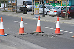 Laytown Burst Pipe..Photo NEWSFILE/Jenny Matthews.(Photo credit should read Jenny Matthews/NEWSFILE)....This Picture has been sent you under the condtions enclosed by:.Newsfile Ltd..The Studio,.Millmount Abbey,.Drogheda,.Co Meath..Ireland..Tel: +353(0)41-9871240.Fax: +353(0)41-9871260.GSM: +353(0)86-2500958.email: pictures@newsfile.ie.www.newsfile.ie.FTP: 193.120.102.198.