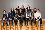 """Kerry School of Music """"Musician of the Year"""" awards finalists front l-r Cliona Lynch, Ben johnson, Catriona Fitzmaurice, Orla O'Connor, EoinForan, Eva Mullally and James Sugrue, back l-r Katherina Roberts, Eden Abrahams, Clodagh Gaynor, Tess Dowling and Caoilfhionn Doyle pictured in the Malton Hotel, Killarney last Sunday night."""