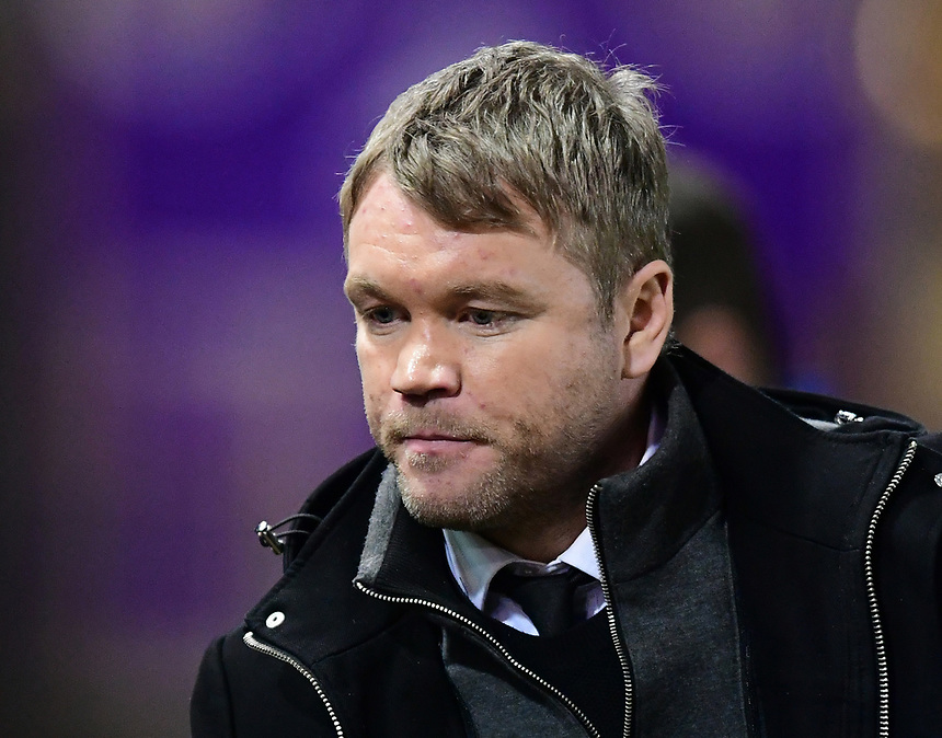 Peterborough United manager Grant McCann<br /> <br /> Photographer Chris Vaughan/CameraSport<br /> <br /> The EFL Checkatrade Trophy Fourth Round - Lincoln City v Peterborough United - Tuesday 23rd January 2018 - Sincil Bank - Lincoln<br />  <br /> World Copyright &copy; 2018 CameraSport. All rights reserved. 43 Linden Ave. Countesthorpe. Leicester. England. LE8 5PG - Tel: +44 (0) 116 277 4147 - admin@camerasport.com - www.camerasport.com