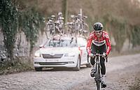 Tosh Van der Sande (BEL/Lotto-Soudal)<br /> <br /> 50th GP Samyn 2018<br /> Quaregnon &gt; Dour: 200km (BELGIUM)