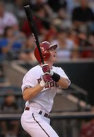 Jun 18, 2007; Phoenix, AZ, USA; Arizona Diamondbacks shortstop (6) Stephen Drew against the Tampa Bay Devil Rays at Chase Field. Mandatory Credit: Mark J. Rebilas